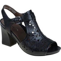 Women's Earthies Acadia Black Full Grain Leather