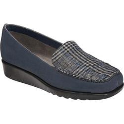 Women's A2 by Aerosoles Gondola Navy Fabric