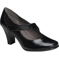 Women's Aerosoles Domino Mary Jane Black Leather