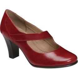 Women's Aerosoles Domino Mary Jane Red Leather