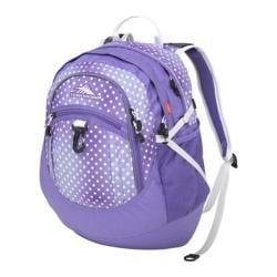 High Sierra Fat Boy Sprinkle Dots/Lavender/White Tablet Backpack
