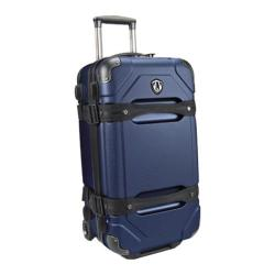 Traveler's Choice Maxporter Navy 24-inch Rolling Cargo Trunk Upright Duffel/ Suitcase