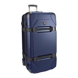 Traveler's Choice Maxporter Navy 32-inch Hardside Rolling Upright Duffel Suitcase