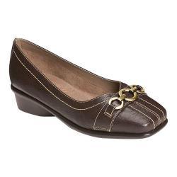 Women's Aerosoles Megaphone Dark Brown Faux Leather