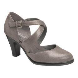 Women's Aerosoles Postage Strappy Heel Grey Fabric