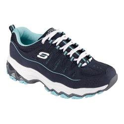 Women's Skechers Encore Be Seen Training Shoe Navy/Light Blue