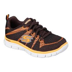Boys' Skechers Flex Advantage Paybacks Sneaker Charcoal/Orange