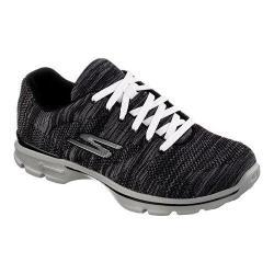 Women's Skechers GOwalk 3 Contest Sneaker Black/Gray