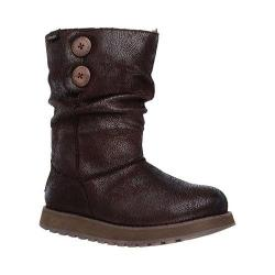 Women's Skechers Keepsakes Leatheresque Boot Chocolate