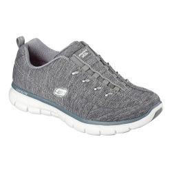 Women's Skechers Synergy Positive Outcome Walking Shoe Gray
