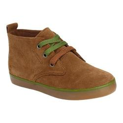 Boys' Hanna Andersson Nils 2 Chukka Boot Brown Suede/Chive