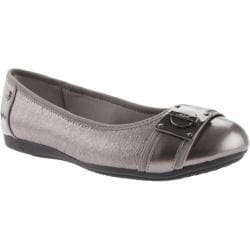 Women's Anne Klein If Only Ballet Flat Pewter Multi Fabric