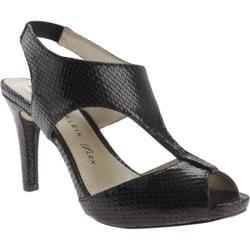 Women's Anne Klein Ovido Sandal Black Fabric