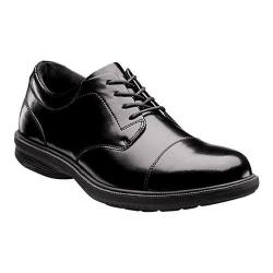 Men's Nunn Bush Mitchell St. Cap Toe Oxford Black Leather