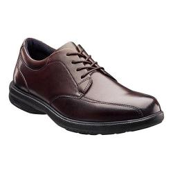 Men's Nunn Bush Mulberry St. Bicycle Toe Oxford Brown Leather