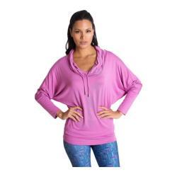 Women's Be Up Cowl Neck Jacket Purple