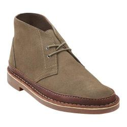 Clarks Men's Bushacre Rand Taupe Suede