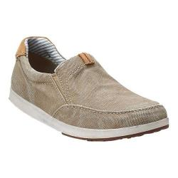 Men's Clarks Norwin Easy Washed Olive Canvas