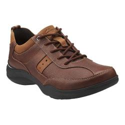 Men's Clarks Wave.Course Brown Leather