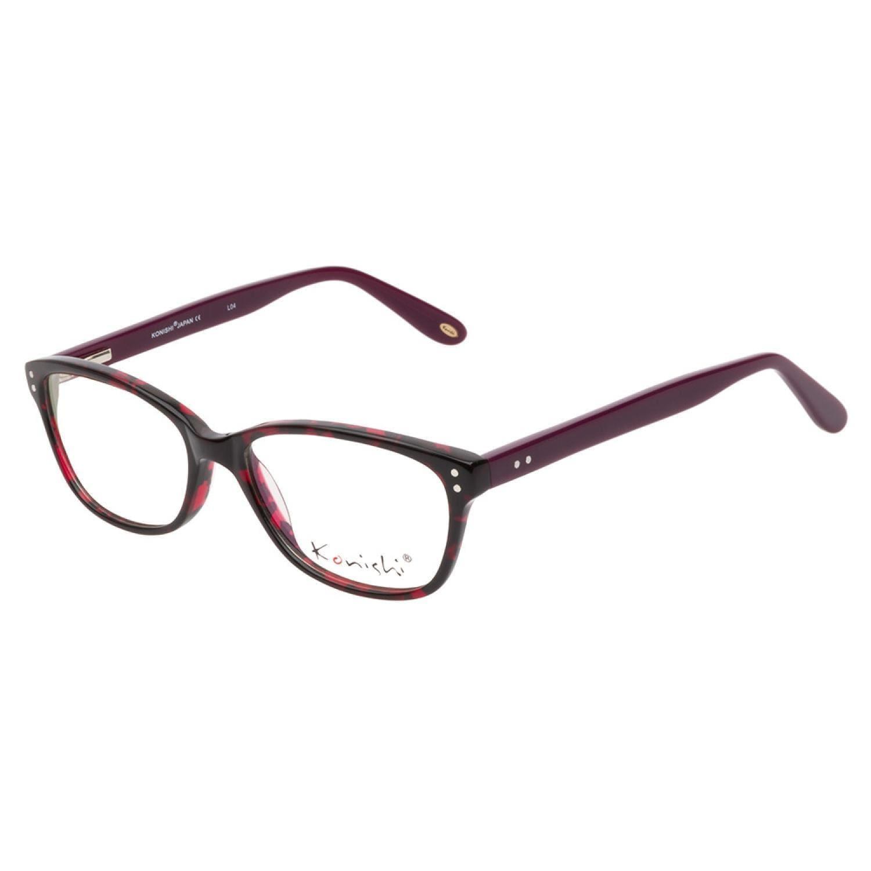 Konishi KA5780 C2 Black Pink Purple Prescription Eyeglasses