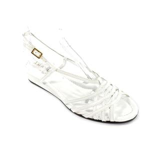 Amalfi By Rangoni Women's 'Stripey' Patent Leather Sandals (Size 6 )
