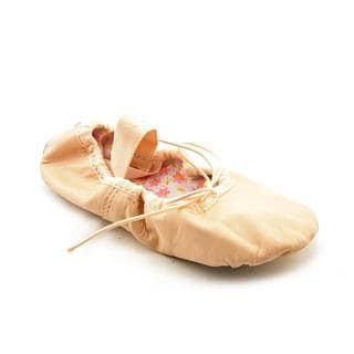 Capezio Girl (Youth) 'Split Sole Daisy' Leather Athletic Shoe (Size 10 )