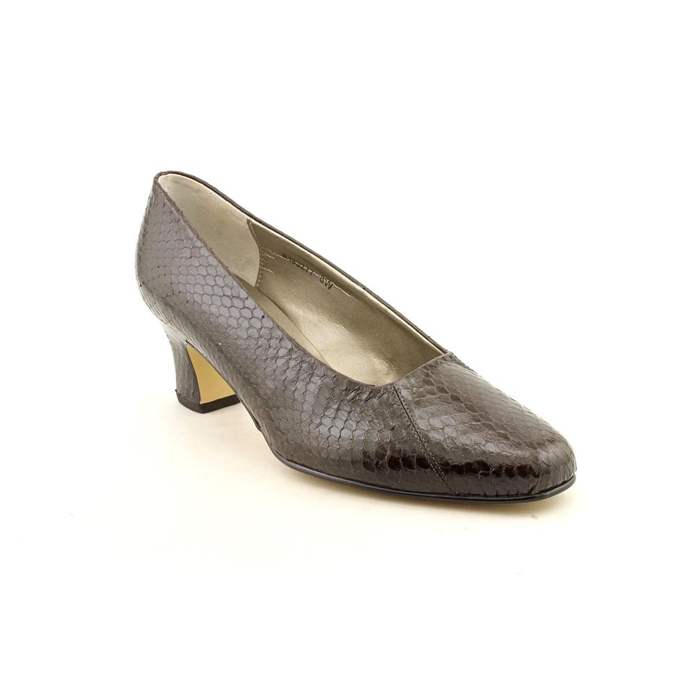 Mark Lemp By Walking Cradles Women's '133277' Leather Dress Shoes - Wide (Size 8 )