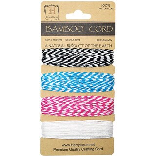 Rayon from Bamboo Bakers Twine Carded Set 2 Ply 410'/Pkg-Peony
