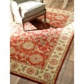 nuLOOM Hand-tufted  Wool Red Rug (5' x 8')