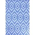 nuLOOM Flat Woven Wool Royal Blue Rug (5' x 8')