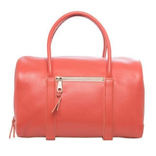 Chloe 'Madeline' Salmon Leather Satchel