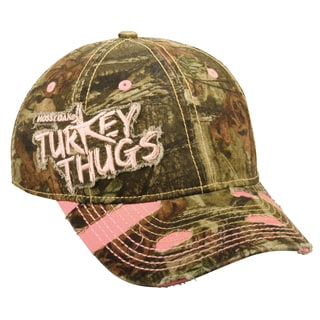 Mossy Oak Turkey Thugs Women's Adjustable Hat