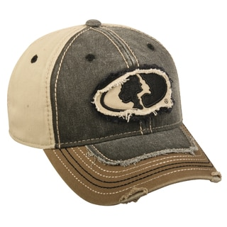 Mossy Oak Frayed Adjustable Hat