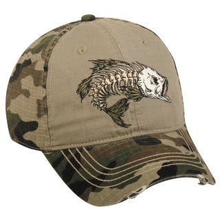 Bass Bonefish Adjustable Hat