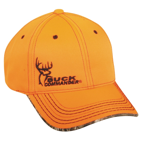 Buck Commander Blaze Orange Adjustable Hat
