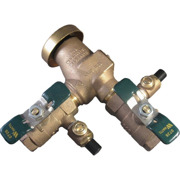 Watts 800M4QT 0.75-inch Pressure Vacuum Breaker