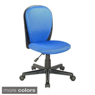Two-tone Fabric-covered Youth Desk Chair