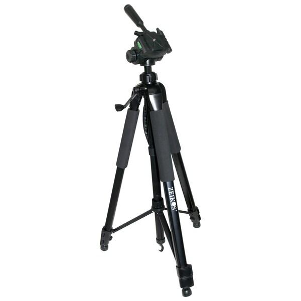 Zeikos ZE-TR125B 75-inch Full Size Photo/ Video Tripod