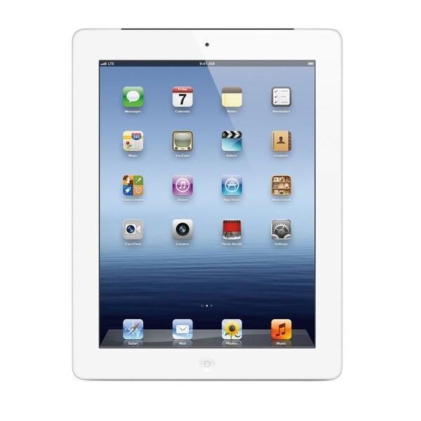 Apple iPad 4 Retina Display 128GB 9.7-inch Sprint 4G LTE White Tablet PC