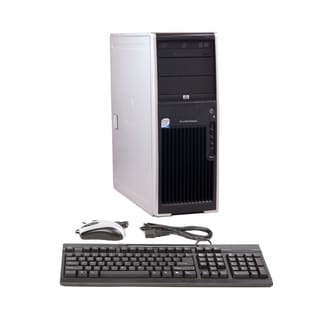 HP XW4400 Core 2 Duo 2.4GHz 4GB 1TB DVDRW Windows 7 Pro 64-bit Minitower Computer (Refurbished)