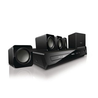 Philips HTS3541/F7 Smart 3D Blu-ray 5.1 Home Theater System (Refurbished)