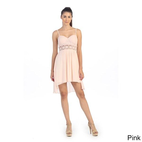 Hadari Junior's Daisy Sweetheart Flutter Dress