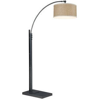 Zen 76-inch Floor Arc Lamp