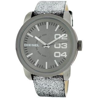 Diesel DZ5373 Franchise Silvertone 54MM Oversized Watch