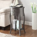 Ashton Grey Single-drawer Side Table