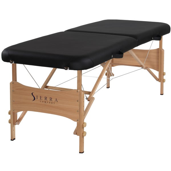 Portable massage table folding adjustable tattoo spa for Exercice table