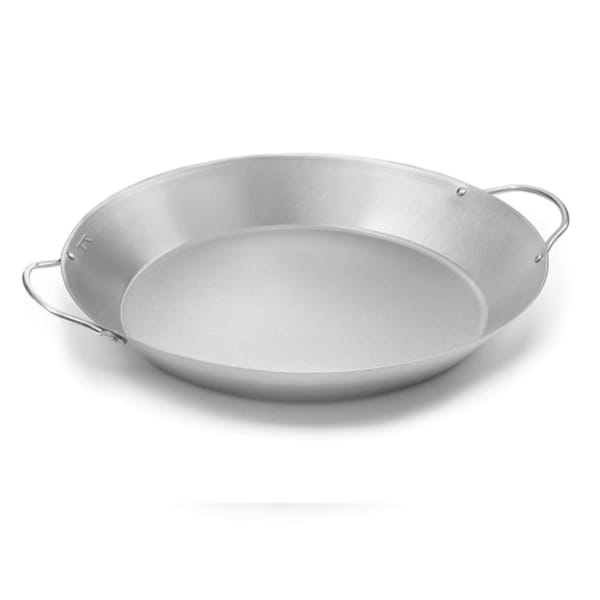 Outset Stainless Steel 16-inch Diameter Paella Pan