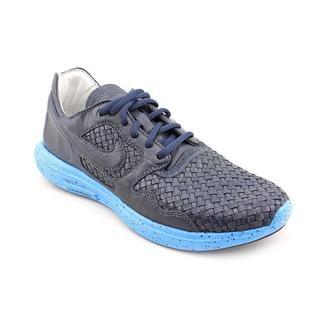 Nike Men's 'Lunar Flow Woven Lth Tz' Leather Athletic Shoe