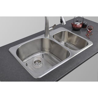 Best Rated Stainless Steel Sinks : Stainless Steel,Drop-In Kitchen Sinks - Overstock? Shopping - The ...