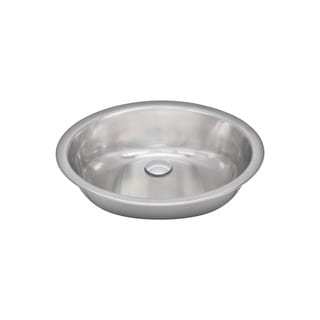 Wells Sinkware 20 Gauge Single Bowl Undermount Stainless Steel Kitchen/ Bar Sink Package